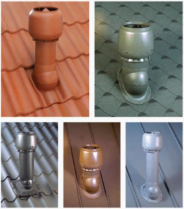 ventiliacijos kamineliai