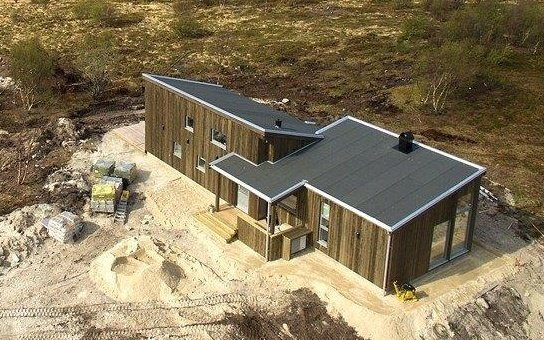 Gyvenamieji namai – Norvegijoje Finnvik